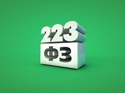 Закон о госзакупках 223 фз